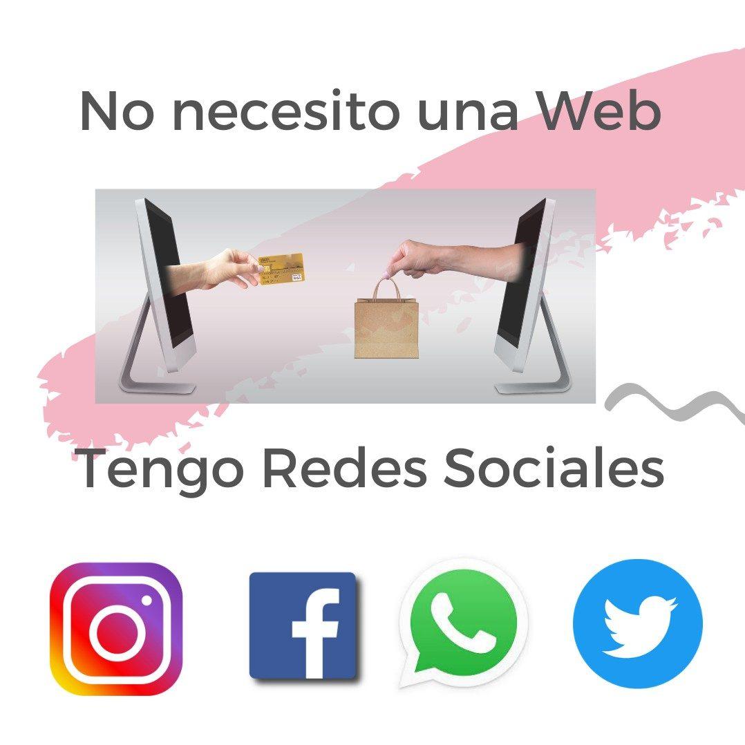 No necesito una web