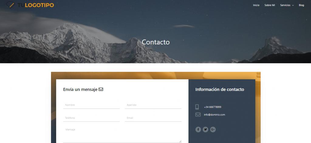 Contacto Demo