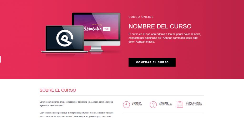 Pagina de Ventas Larga Demo