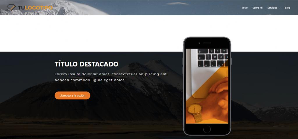 homepage demo